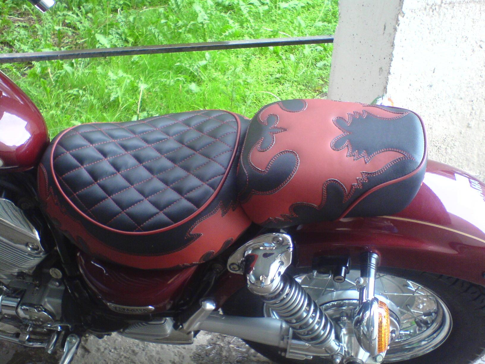 Как сделать сиденье мотоцикла